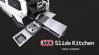 NEW! ARB Slide Kitchen | Camp Complete with ARB 4x4 Accessories