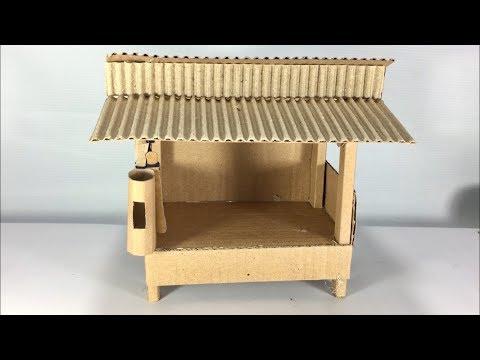 Ide Kreatif Miniatur Pos Ronda dari Kardus Bekas  1c35605b1a