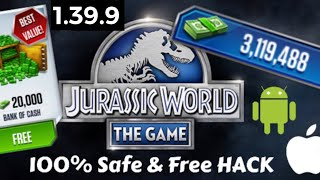 Jurassic World The Game FREE HACK AND APK MOD ANDROID AND IOS DOWNLOAD VERSION 1.39.5 EASY DOWNLOAD