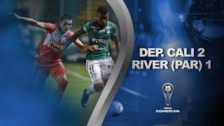 Deportivo Cali vs. River Plate (PAR) [2-1] | GOLES | Primera fase (Ida) | Sudamericana 2020