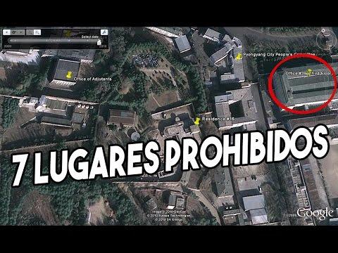 7 LUGARES PROHIBIDOS que jamás podrás visitar!