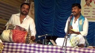 Yakshagana -- Jansale Singing as Late G.R.Kalinga Navada
