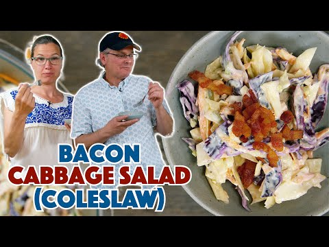 Bacon Cabbage Salad Recipe Ideas Coleslaw Recipe Ideas