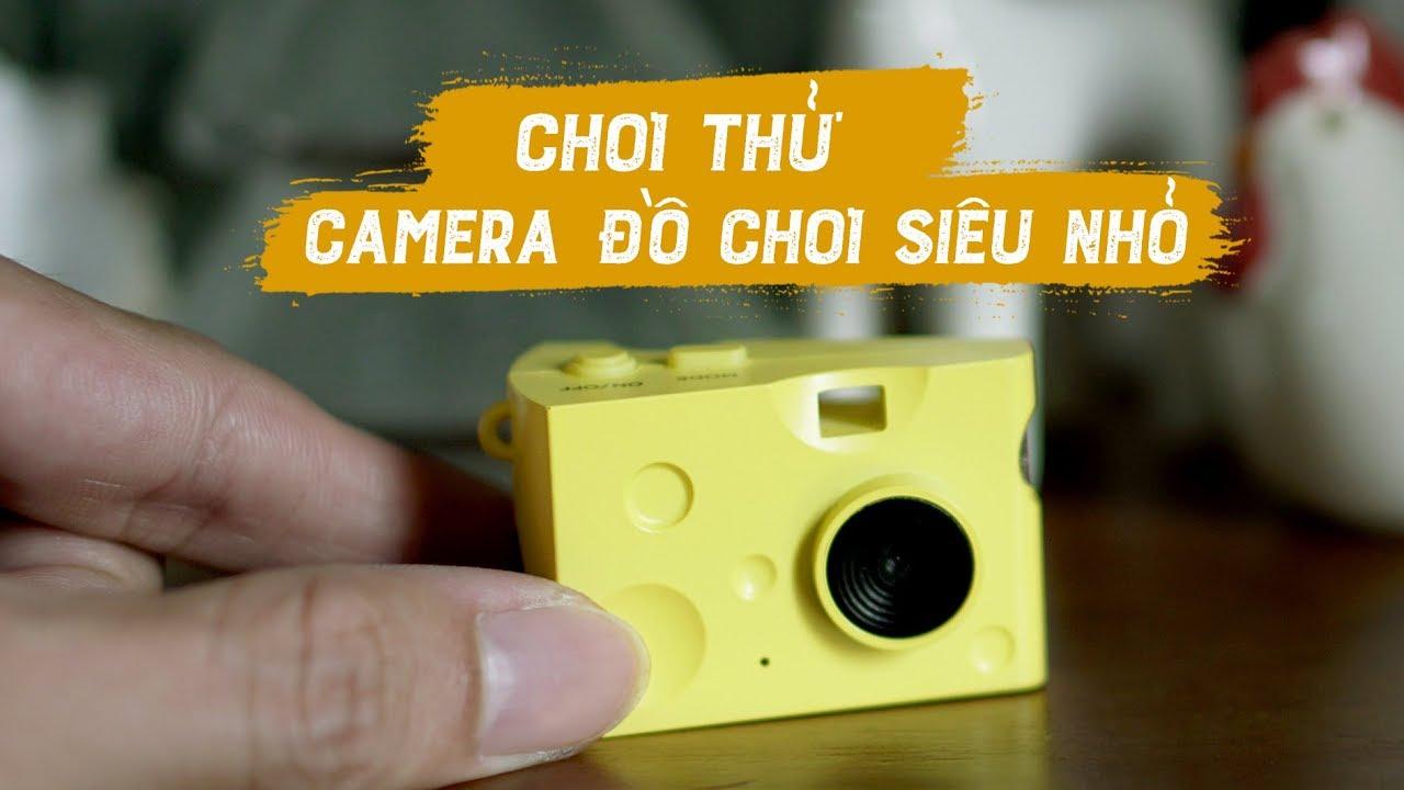 Chơi thử camera đồ chơi siêu nhỏ // Toy Camera Cheese