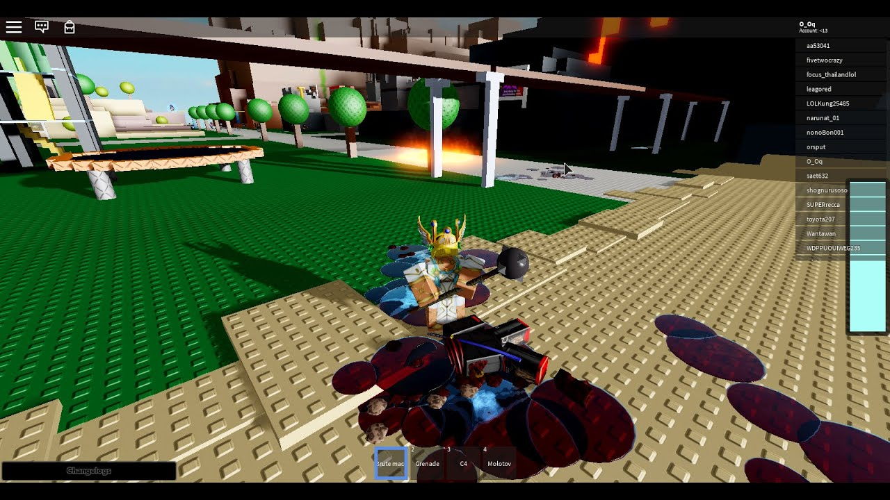 Is Roblox Violent Most Violent Game On Roblox Blood Flow Youtube