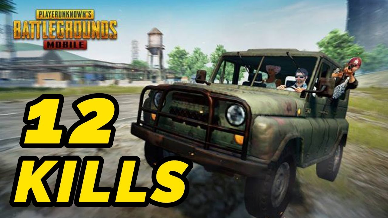 Pubg Mobile Vehicles Only Challenge Youtube