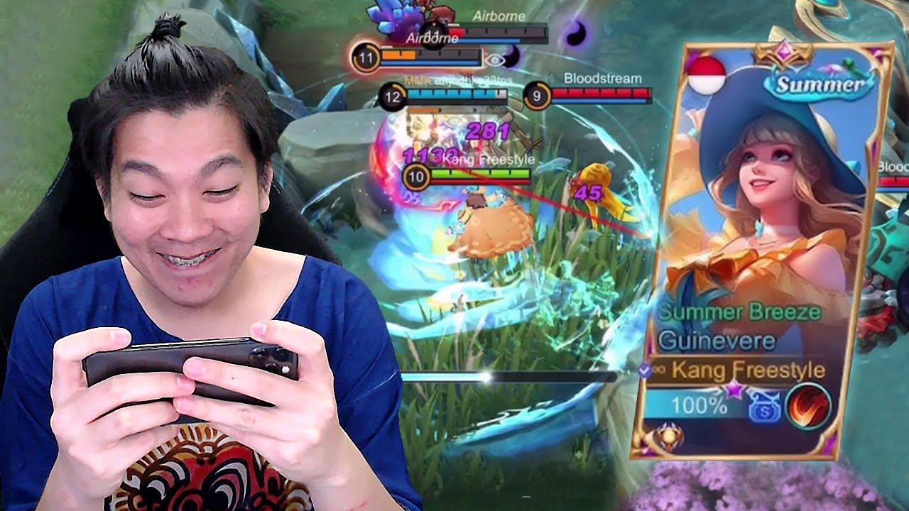 Review Skin Guinevere Summer, Ultinya Kayak Oddete Coy! - Mobile Legends
