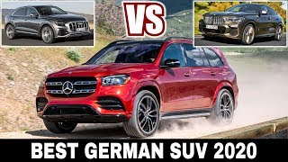 3 Upcoming SUVs by German Manufacturers in 2020: Mercedes GLS vs BMW X6 vs Audi SQ8
