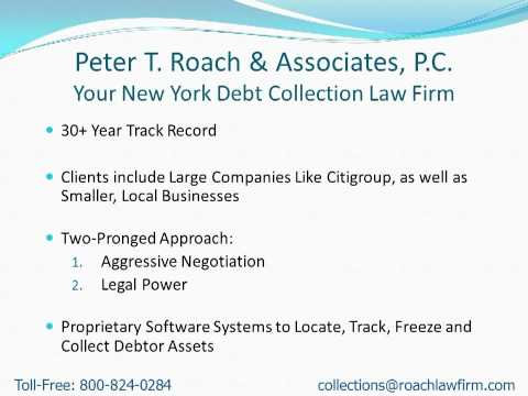 Collection Attorneys Near Jamestown NY