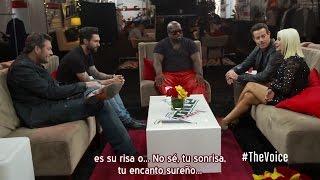 Christina Aguilera - Carson y los Coaches #1: Reunidos - The Voice 5 (Subtítulos español)