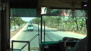 Myanmar 2012 - Bus trip from Yangon (Rangoon) to Bago (1015)