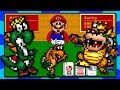 Funny Super Mario Card & Board Games - Mario's Game Gallery