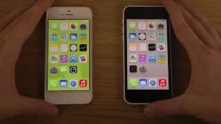 Download lagu iPhone 5C iOS 7 0 2 vs iPhone 5 iOS 7 0 2 Which Is Faster MP3