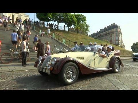 شاهد: سيارات عفا عليها الزمن تغزو شوارع باريس  - نشر قبل 8 ساعة