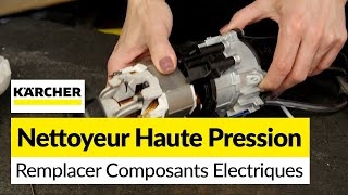 Remplacer les Composants Electriques d'un Nettoyeur Haute Pressior Karcher