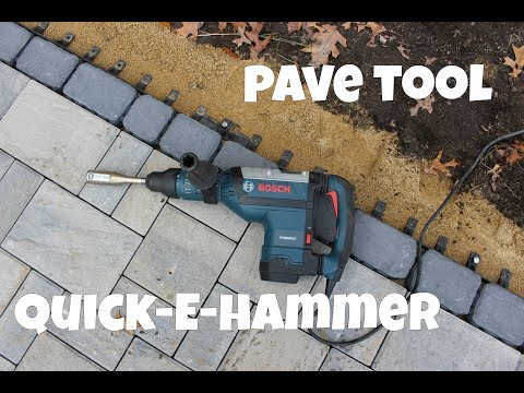 Best Way to Install Paver Edge Restraint Spikes