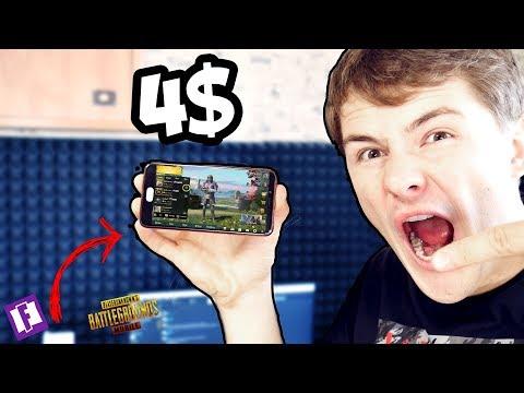 """""""БОМЖ"""" Смарфтон ЗА 4$ ! / PUBG Mobile за копейки"""
