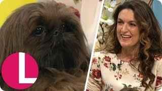 Radio Presenter Emily Dean Praises Her Dog For Helping Her Through Her Grief  Lorraine