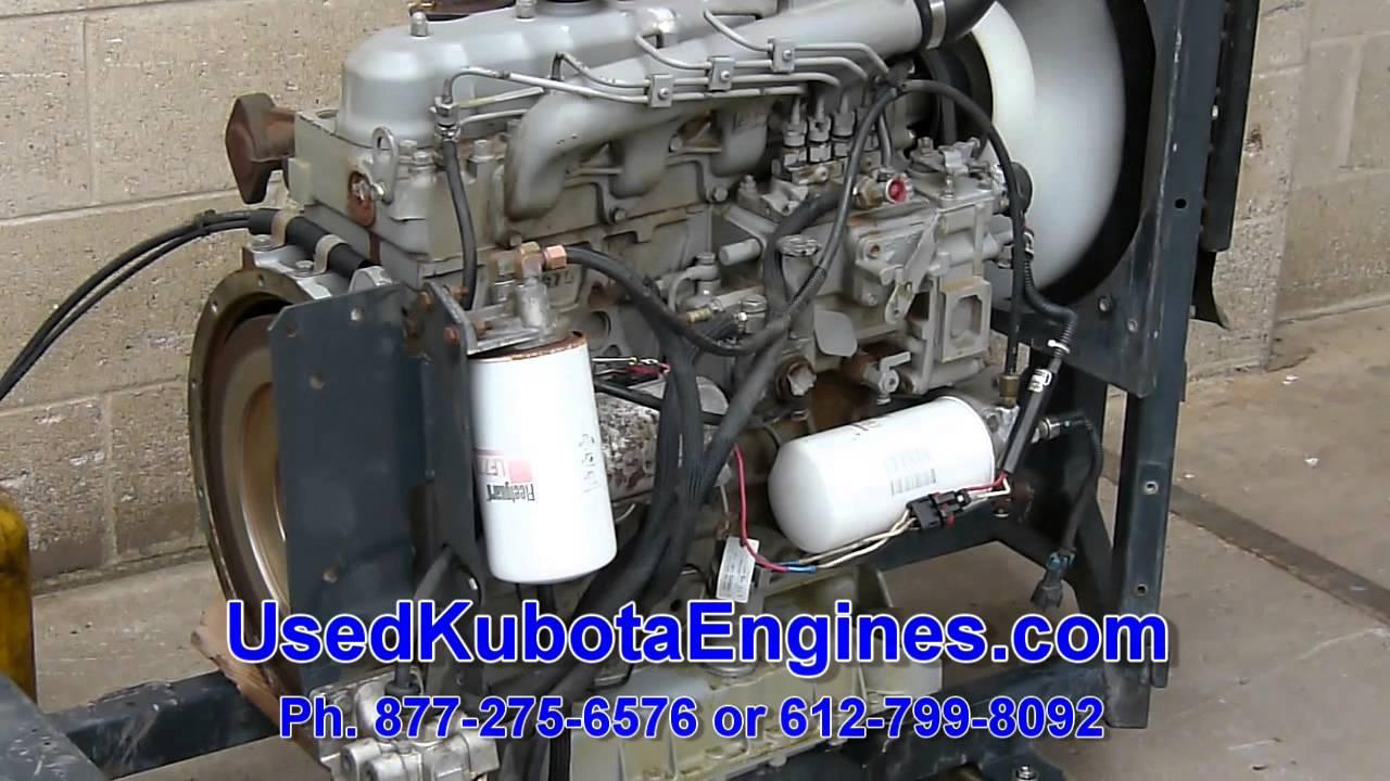 Used Kubota V2203 Engine For Sale Ph  612-799-8092 - Ser #202451