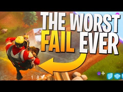 My WORST FAIL on Fortnite BR! - PS4 Fortnite Gameplay!