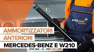 Come sostituire Ammortizzatori anteriori su MERCEDES-BENZ E W210 [TUTORIAL]