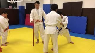 JUDO#小外刈りからの体落#kouchigari→TAIOTOSHI