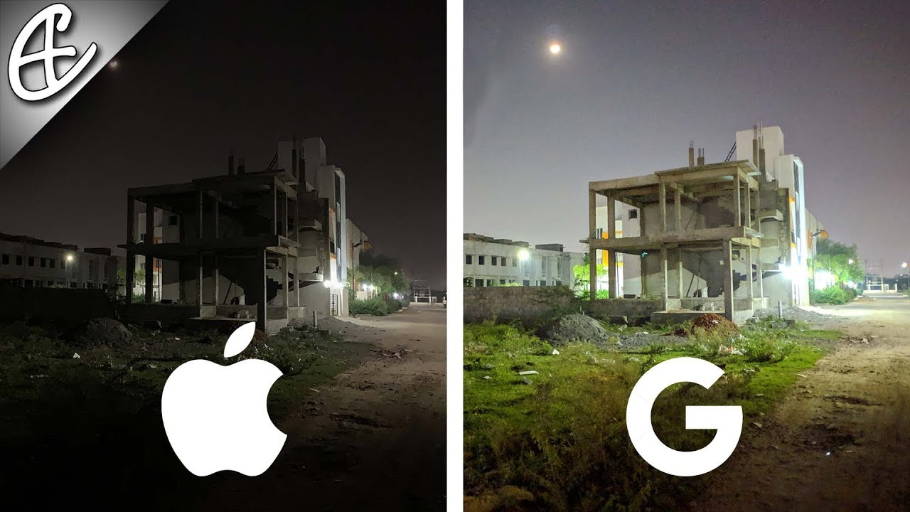 iPhone XS Max Destroyed by Pixel 3XL w/ NightSight , Low Light Comparison!