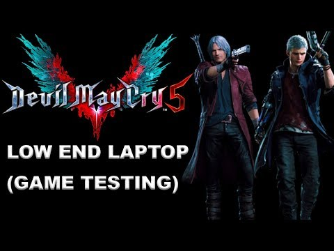 DEVIL MAY CRY 5 PC On Low End Laptop (920M | I5 5200U | 4GB RAM ) GAME TESTING 1