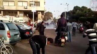 الداخلية فى بورسعيد - اشتباكات بين المتظاهرين والجيش