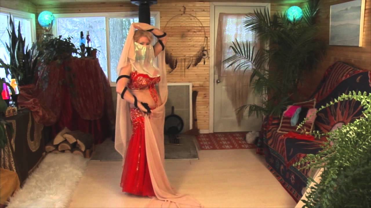 veil dance Arab belly