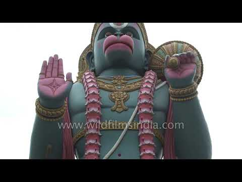 102 Feet big Hanuman idol in Agara | Bangalore