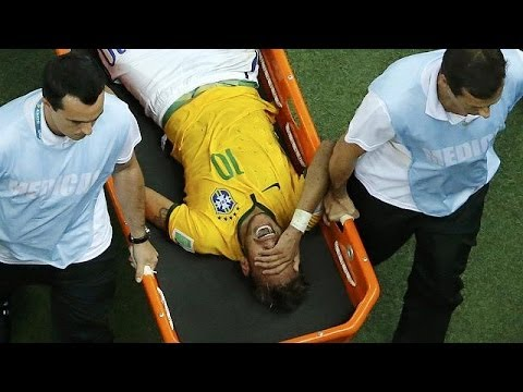 Injury puts Brazil's Neymar out of World Cup