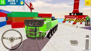 Cargo Crew Port Truck Driver New Car (Giant Hauler) #2 - Android Gameplay FHD