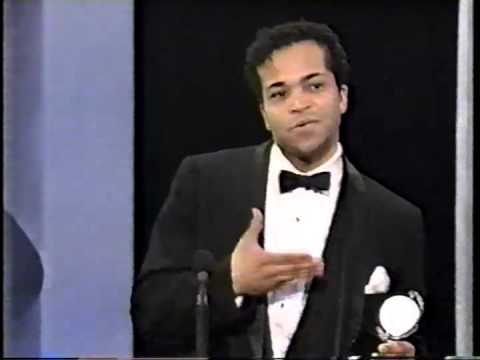Jeffrey Wright wins 1994 Tony Award for Best Featured Actor in a Play