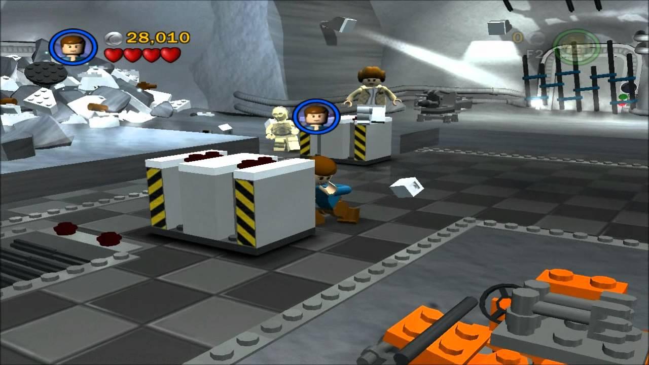 lego star wars ii walkthrough episode v chapter 2 escape from echo