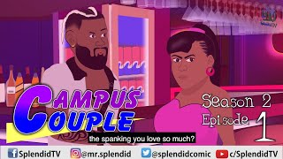 CAMPUS COUPLE S2 EP1; Bimbo's past (Splendid TV) (Splendid Cartoon)