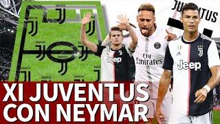 Sería La Pesadilla De Toda Europa El Xi De 630m De La Juve Si Llegara Neymar  Diario As