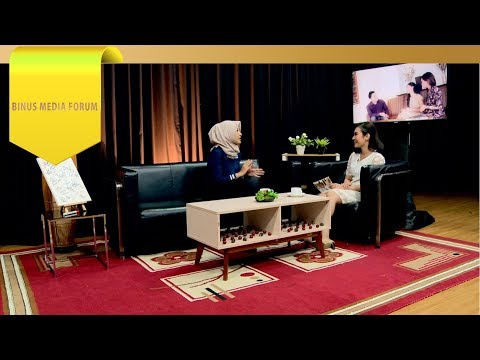 BINUS MEDIA FORUM - Nova Zakiya - Keluh Kesah Seorang Reporter RTV