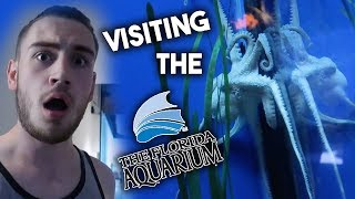 I want this Octopus To Be My New Pet! 🐙 Visiting The Florida Aquarium!! | BH Real Vlog #5