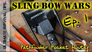 4 Best Survival Slingshots For Bug Out Bag / Hunting - Ep. 1 - Pathfinder Pocket Hunter On Trial