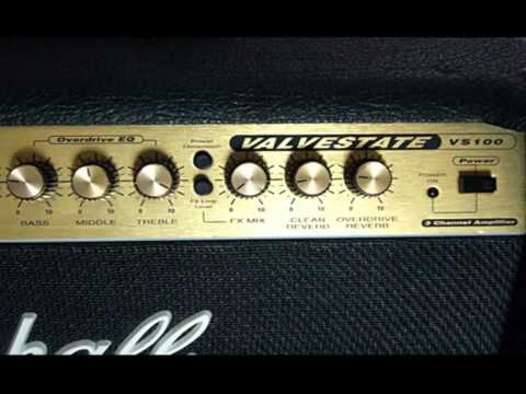 Marshall Valvestate Vs100 - Metal Rhythms, Leads and Cleans