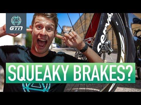 How To Fix Squeaky Brakes   Rim & Disc Brake Maintenance Hacks