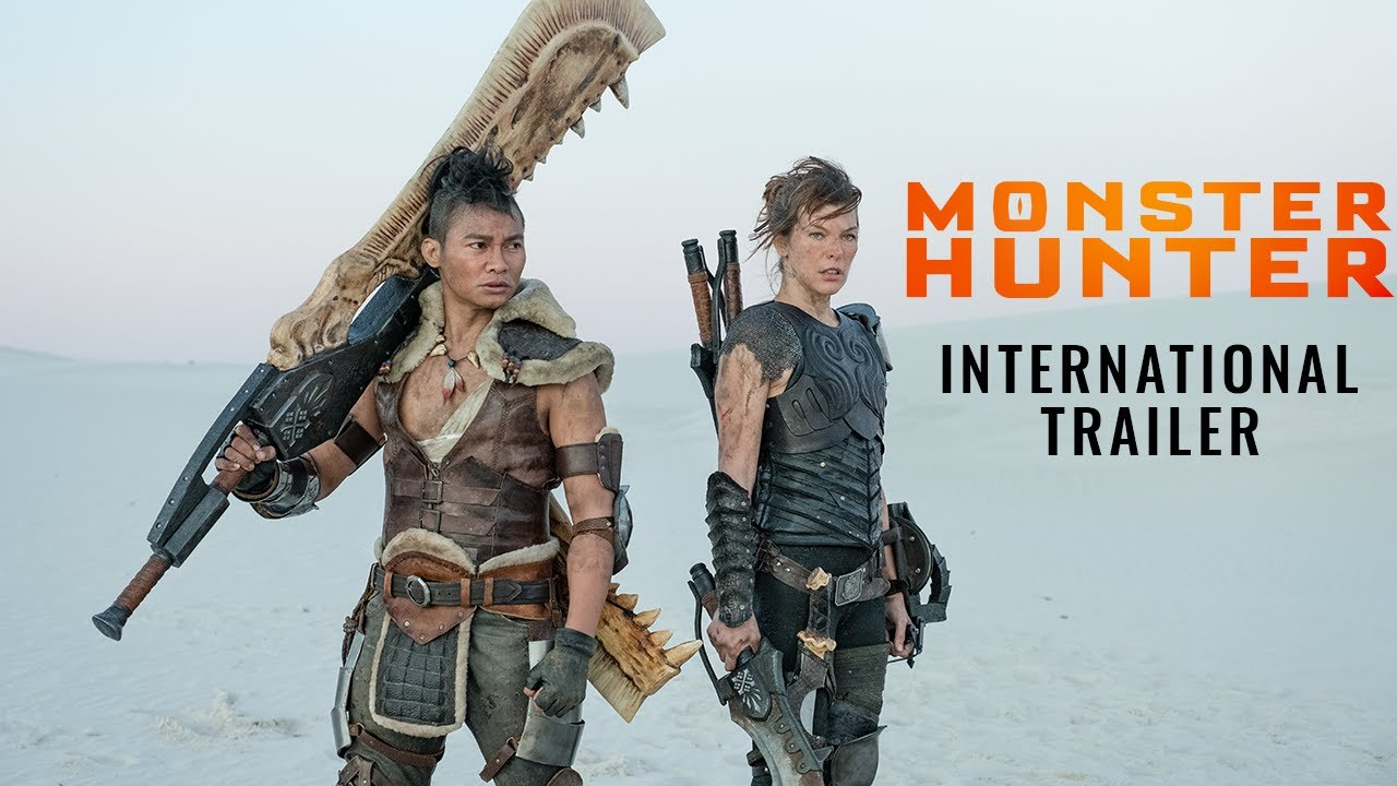 Monster Hunter filmtrailer met Milla Jovovich