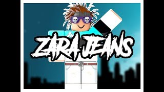 Making zara jeans ROBLOX