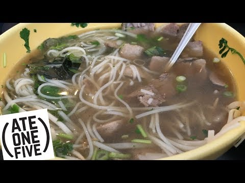 Pho Square Beef Pho: Ate One Five