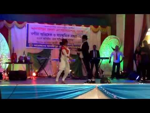 Bengali program 18th january 2015 ( Rehan ,Nova, Eleas ) Orchid dance group, Paris ,France