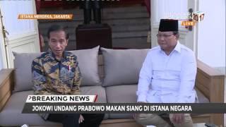 Ini Obrolan Jokowi dan Prabowo di Istana