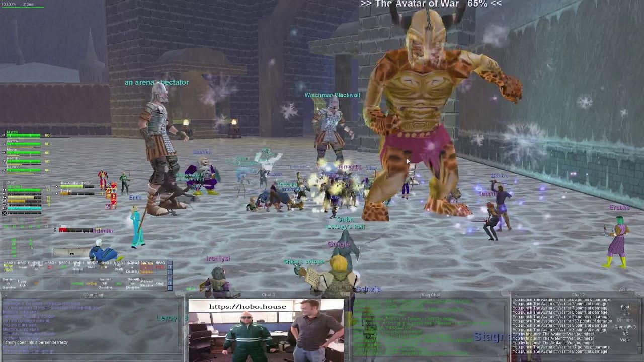 The Avatar of War Attempt - Everquest (Agnarr Progression Server)