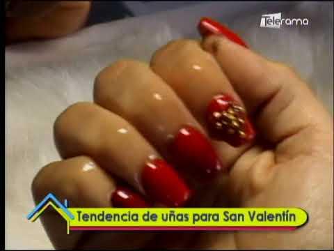 Tendencia de uñas para San Valentín