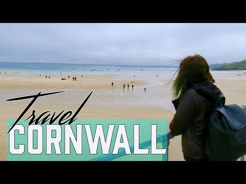Travel VLOG | Cornwall - St Ives beach, Lands End and Minack Theatre